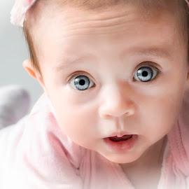 Big Blue Eyes by Sue Matsunaga - Babies & Children Babies