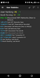 WiGLE WiFi Wardriving- screenshot thumbnail