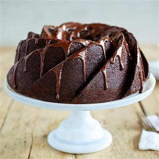 Decadent Devil's Food Pound Cake.
