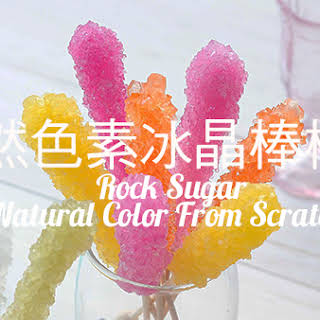 Rock Candy ~ All Natural Color From Scratch.