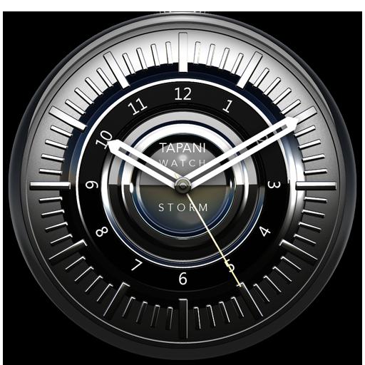 STORM Designer Clock Widget