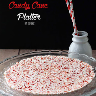 Candy Cane Tray