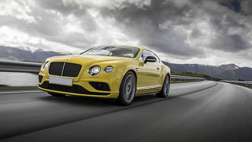 Bentley Continental GT V8S, similar to Zuma's