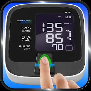 Finger Blood Pressure Checking