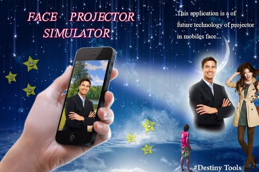 Face Projector Simulator