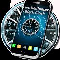 Live Wallpaper Clock Nero icon