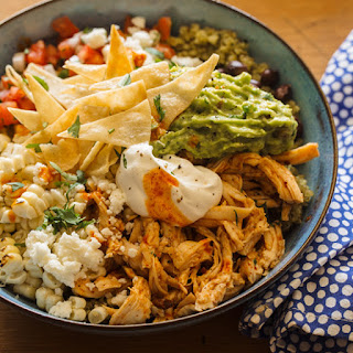 Honey-Chipotle Chicken Burrito Bowls