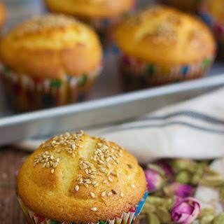 Persian Cardamom Muffins - Cake Yazdi.