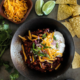 Sweet & Smoky Pineapple Chipotle Chili.