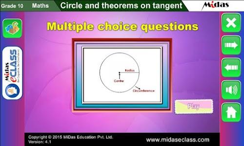 MiDas eCLASS Maths 10  Demo screenshot 5