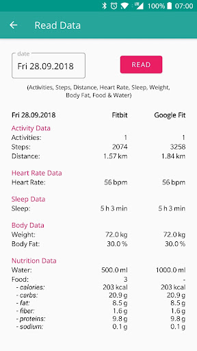 FitToFit - Fitbit to Google Fit