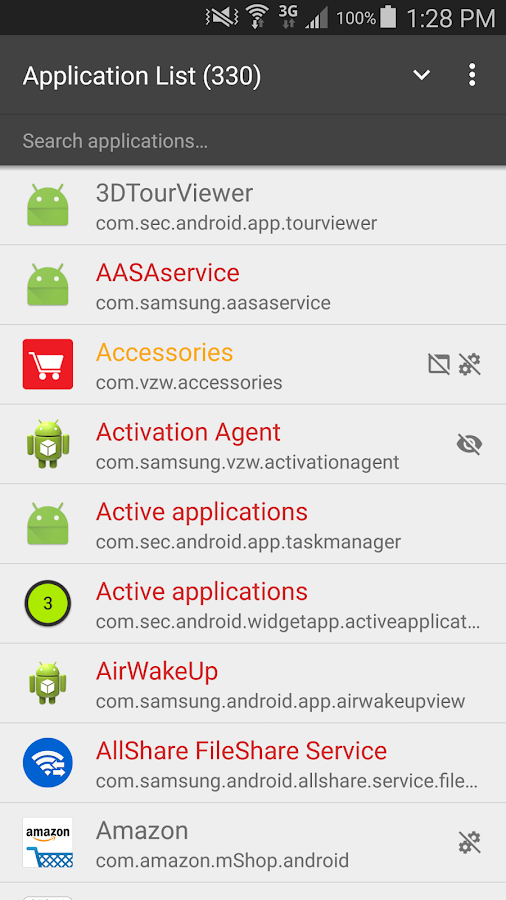 CCSWE App Manager (ROOT)- screenshot