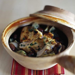 Chicken Hotpots With Globe Artichokes