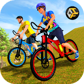 OffRoad BMX Bicycle Stunts Rider