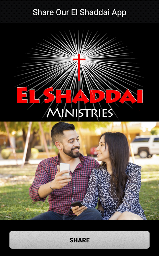 El Shaddai Ministries CA- screenshot