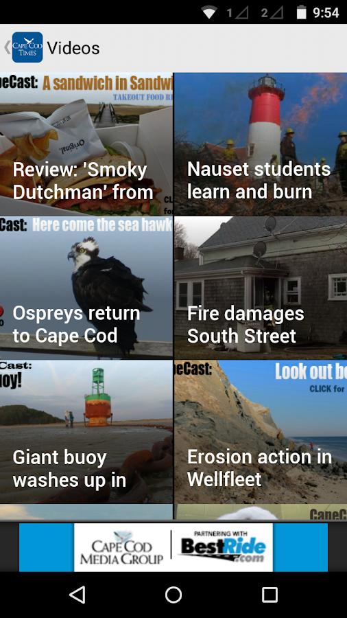 Cape Cod Times, Hyannis, Mass.- screenshot