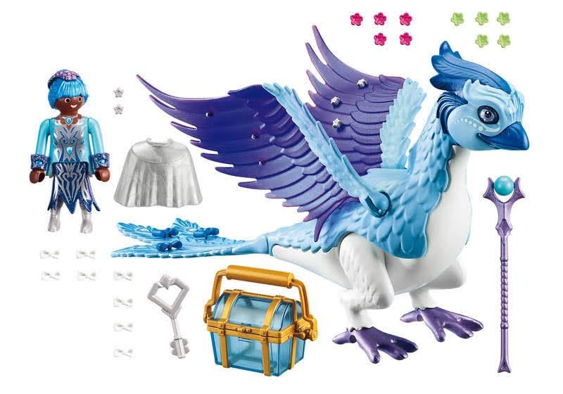 Contenido real de Playmobil® 9472 Fénix