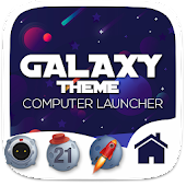 Galaxy Theme For Computer Launcher