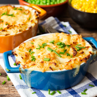 Fish Pie with Cheesy Mash