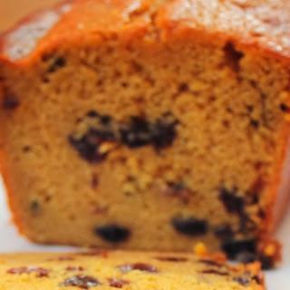 Sherry Raisin Pumpkin Bread