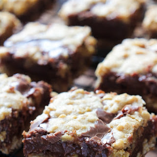 Deep Dish Fudgy Oatmeal Bars.