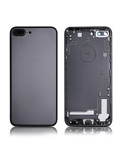iPhone 7 Plus Back Housing without logo High Quality Black
