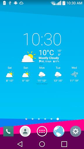 UX 4 Weather Icons for Chronus