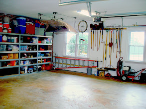 Photo: 26 x 32 Oversize garage, big enough for 3+ cars