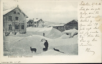 Photo: Fokstua, Dovrefjell 1904