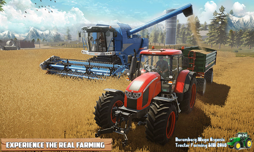 Nuremberg Mega Organic Tractor Farming SIM 2020 screenshots 4