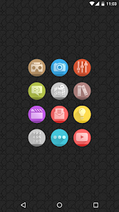 Circlons – Icon Pack 8.1 MOD + APK + DATA Download 2