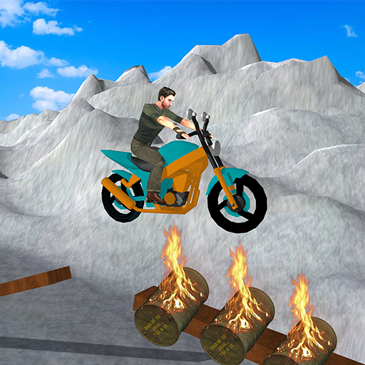 Trial Moto Stuntman