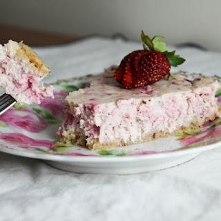 Strawberry Herb Cheese Tart