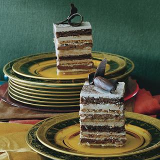 Twelve-Layer Mocha Cake