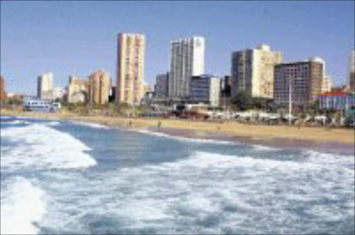 POSTCARD: Durban's beachfront has helped peg the city as a summer destination in the minds of tourists -but it has\nmore to offer . Pic: Sydney Seshibedi. 22/06/2002. © Sunday Times.\n\nSEA CHANGE: Lisebo Mashimbye's holiday in Durban was ruined when she didn't get the apartment she was promised. \n\nThe Golden Mile: Durban beach front.\n\nThe tourism industry is looking forward to next week. Business Day 25 April 2008, page 4.