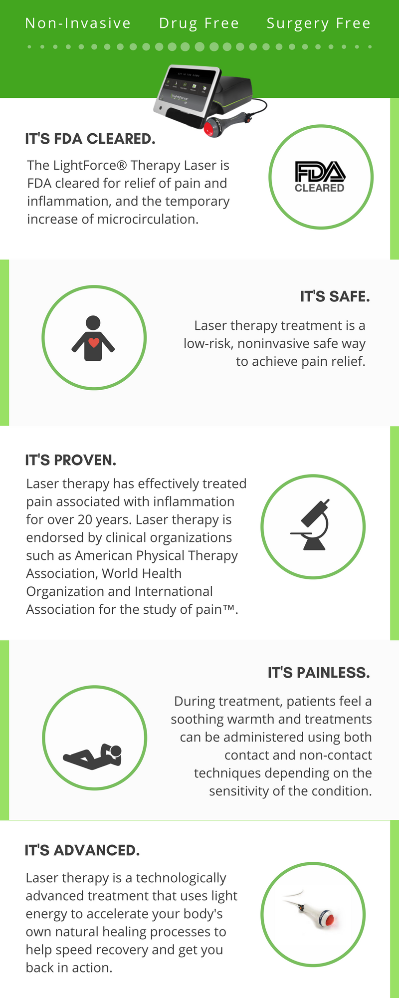 What is Lightforce Laser Therapy?