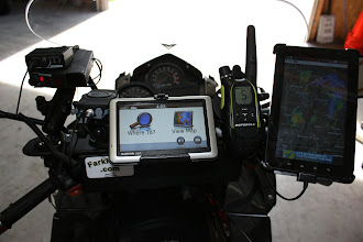 Photo: Radar, GPS, FRS, Tab, Phone via Blue Tooth