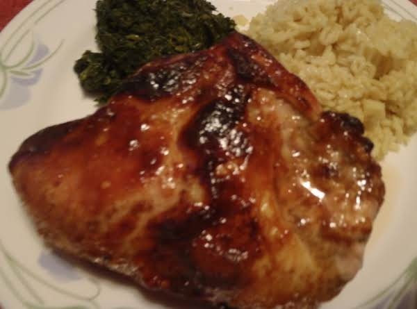 Chicken With Honey Mustard Curry Glaze Recipe
