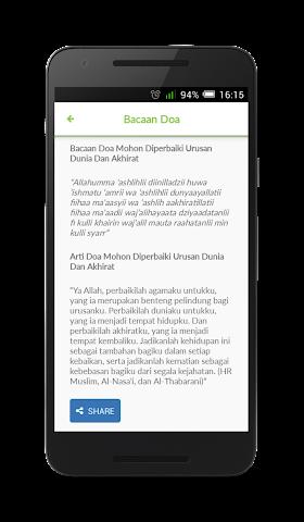 android Kumpulan Doa Islam Terlengkap Screenshot 2