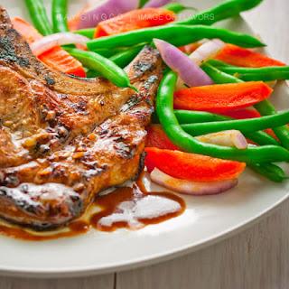 Sweet & Garlicky Pork Chops