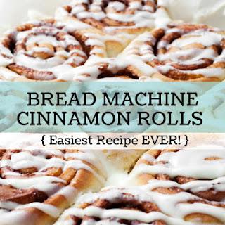 The World's Best Bread Machine Cinnamon Roll Recipe!.