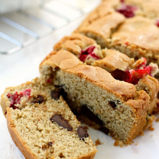 Gluten Free Cranberry Chocolate Chunk Quick Bread. Recipe