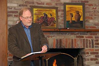 Photo: Mark Miller-McLemore, Dean of Disciples Divinity House at Vanderbilt, keynoted Voices 2010.