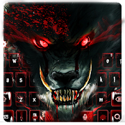 Blood Wolf Keyboard Theme