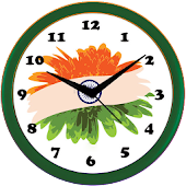 Independence Clock Live Wallpaper