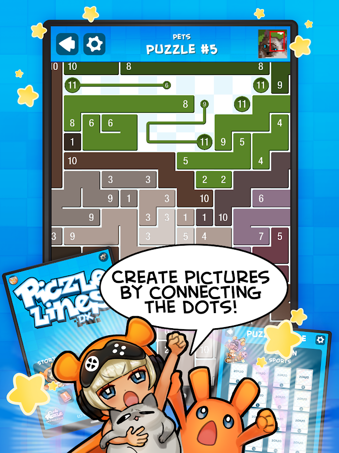 Piczle Lines DX- screenshot