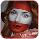 Austria Flag Face Paint - Amazing Photo Editor icon