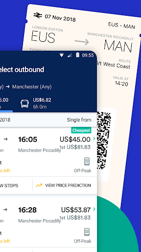 Trainline - Buy cheap European train & bus tickets Apk 2