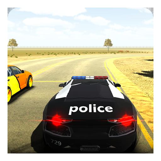 San Andreas Police Car 3D Sim