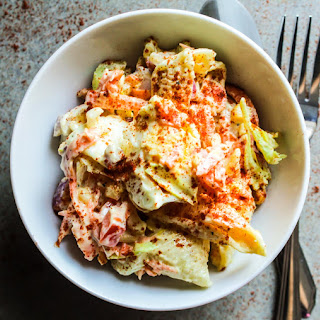 Lightened Up Amish Pasta Salad Recipe
